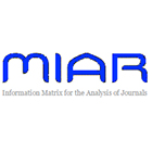 Resultado de imagem para miar Information Matrix for the Analysis of Journals